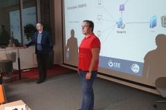 Jirka Šmika nám vysvětlil jak má testovaná aplikce fungovat